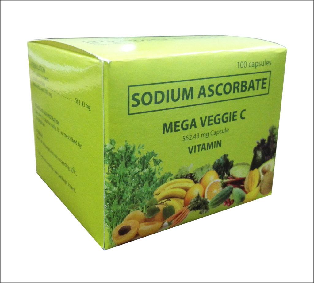 Sodium Ascorbate Mega Veggie C